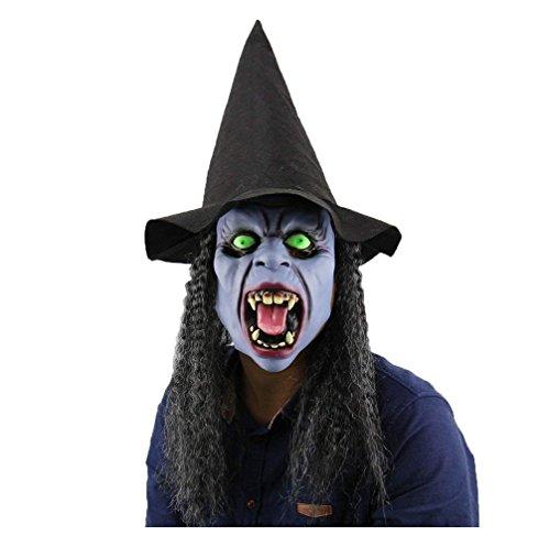 UK_Stone Karneval Halloween Cosplay Party Kostüm Clown Maske aus umweltfreundlichem Latex für Erwachsene (7#) (Clown Halloween-kostüme Uk)