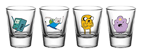 GB eye LTD, Adventure Time, Personajes, Vasos para chupito
