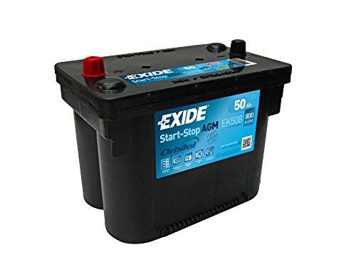 Exide EK508 AGM Autobatterie 50Ah