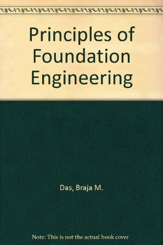 Principles of foundation engineering [Gebundene Ausgabe] by