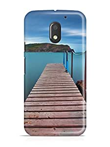 iKraft Printed Design High Quality Case Cover for Motorola Moto E (3rd Gen) / Motorola Moto E (3rd gen) - 5.0 Inch