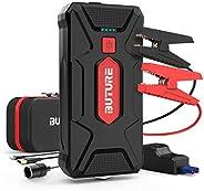 BuTure Avviatore Batteria Auto, 1600A 20000mAh Booster Avviamento Auto Portatile Avviatore Emergenza per Auto/