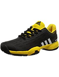adidas Unisex Kids' Barricade Xj Fitness Shoes, Black