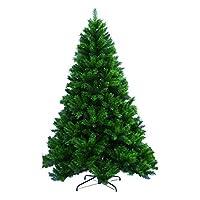 6 Feet 180cm Christmas Tree Green With Metal Stand Green Christmas Supplies