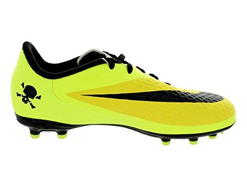 Nike Hypervenom Phelon FG Jr Unisex-Kinder Fußballschuhe VBRNT YLLW/BLK- MTLLC ...