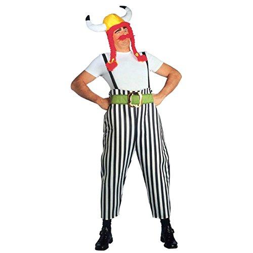 Obelix Kostüm - Obelix Kostüm Gallier Herrenkostüm L (52)