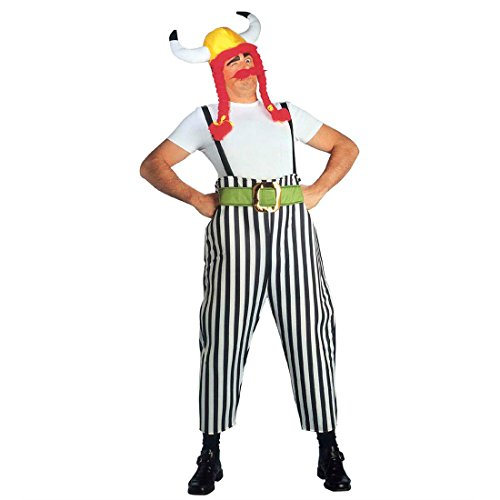 er Herrenkostüm L (52) Obelixkostüm Fasching Gallierkostüm Faschingskostüm Asterix Comic Helden Römer Karnevalskostüm Dicker Wikinger Antike Mottoparty Verkleidung Karneval Kostüme Männer (Asterix Et Obelix Kostüme)