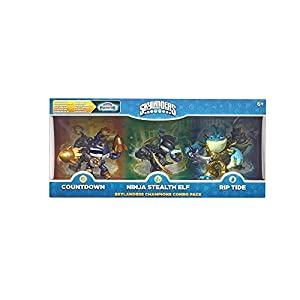 Skylanders Imaginators – Champions Combo Pack (Countdown, Stealth Elf, Rip Tide)