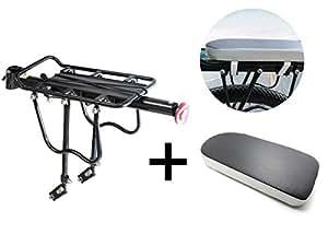 verstellbar hinten fahrrad gep cktr ger mit reflektor tragkraft 50 kg fahrrad cycling sport. Black Bedroom Furniture Sets. Home Design Ideas