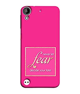 FUSON Designer Back Case Cover for HTC Desire 530 (Aaron Bruno Love Quotes And Inspiration Motivational)