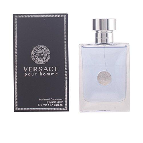 VERSACE - VERSACE POUR HOMME perfumed deo vapo 100 ml-hombre