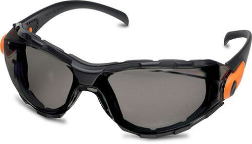 Elvex GG-40G-AF Go-Specs Safety Glasses,with Gray Hard Coated Polycarbonate  Lenses & Graphite Frame
