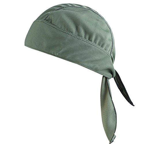 YD Einstellbare Sport-Kopfbedeckung Schweißableitende Beanie-Mütze Radsport-Bandana-Mütze Sonnen-UV-Schutz Für Outdoor-Sport Unisex - Beanie Bekleidung