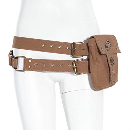Cinturón doble con sistema de almacenaje