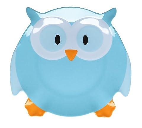 Let's Make Olive Owl Plate