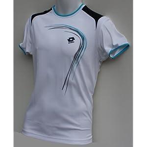 Lotto T-Shirt Trail Boy, Jungen, White/deep Navy