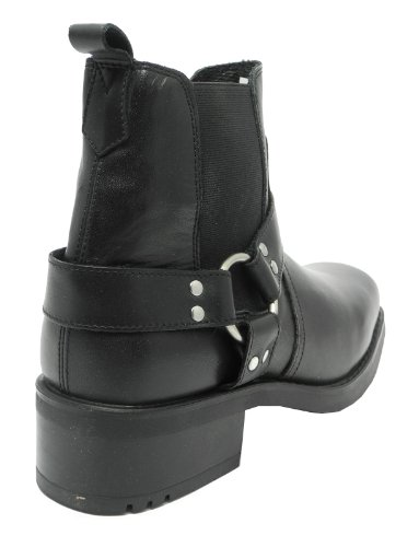 Gringos , bottes motardes homme Noir - noir
