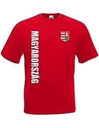 Ungarn Magyarorszag T-Shirt Trikot Wunschname Wunschnummer