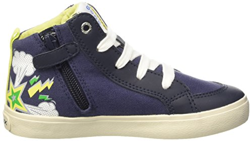 Geox Jr Kiwi C, Sneakers Hautes garçon Multicolore (C4243)