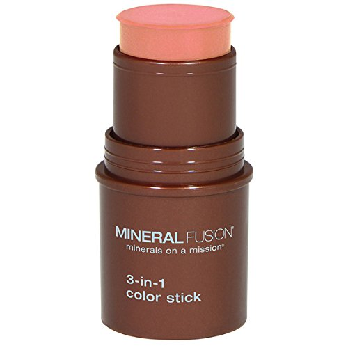 Mineral Fusion 3-in-1 Color Stick, Terra Cotta, .18 Ounce by Mineral Fusion