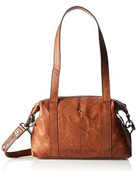 Spikes & Sparrow Damen Zip Bag Schultertasche, 8x22x30 cm