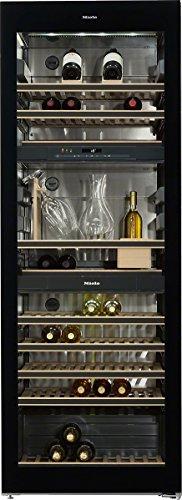 Miele KWT 6834 SGS Weinkühlschrank / Parallele Lagerung von Wein durch separate Temperaturzonen / 192 cm Höhe