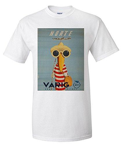 varig-norte-vintage-poster-artist-petit-brazil-premium-t-shirt