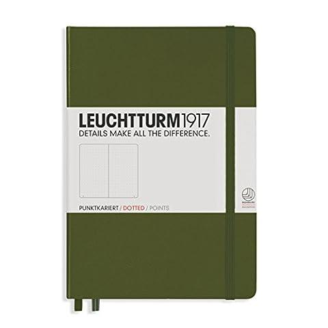 Leuchtturm1917 329398 Carnet Medium A5,Vert, pointillés