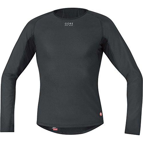 GORE BIKE WEAR Herren Thermo-Unterzieh-Shirt, Langarm, Stretch, GORE WINDSTOPPER - 3