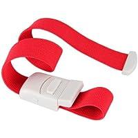 Ligadura Torniquete Médico Ajustable rojo Primeros Auxilios emergencia