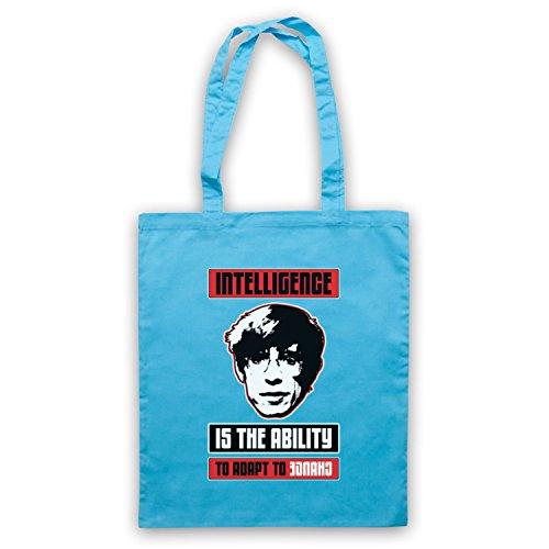 Steven Hawking Intelligence Ability Change Umhangetaschen Hellblau