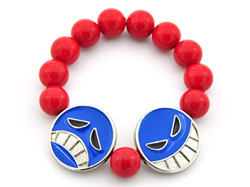 CoolChange Pulsera de Puma Ace de One Piece con 2 Smileys