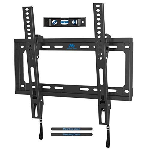 Mounting Dream Soporte de Pared de TV Inclinación Soporte de Televisión para la Mayoría de los 26-55 Pulgadas LED, LCD, OLED y Plasma TVs con VESA 75x75-400x400mm hasta 40kg, MD2868-M-03