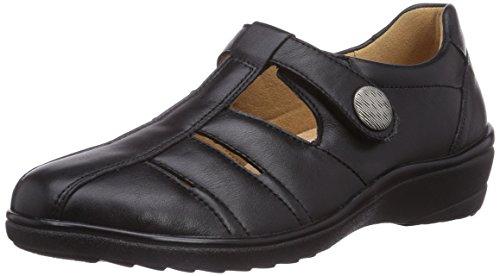 Ganter SENSITIV HELGA, Weite H, Scarpe chiuse donna Grigio (Grigio (schwarz 0100))