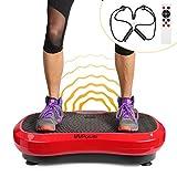 MVPower Pedana Vibrante per Allenamento Intelligente Fitness, Allenamento Ampia Area Antiscivolo, con...