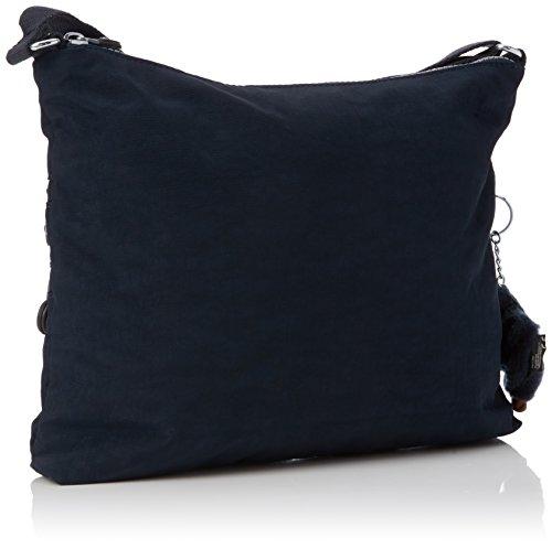 Kipling Alvar - Borse a spalla Donna, Blau (True Blue), One Size Blu (True Blue)