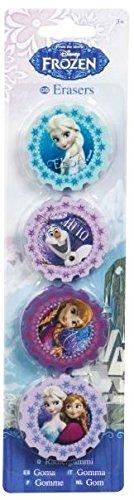 Disney Frozen Die Eiskönigin 4 Radiergummis Radierer
