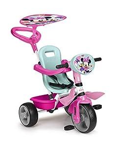 FEBER - Triciclo Minnie Happy Helpers Trike, para niños de los 9 meses a los 3 años (Famosa 800012262)