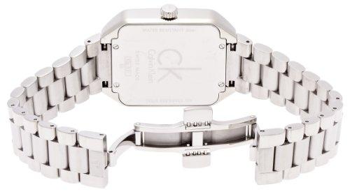 Calvin Klein Damen-Armbanduhr Analog Quarz Edelstahl K3L33161 -