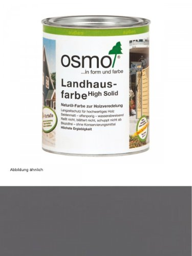 OSMO Landhausfarbe steingrau 750 ml