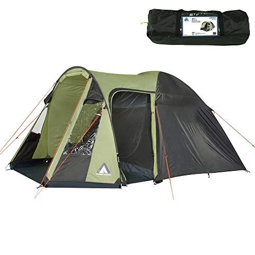 10T Zelt Corowa Beechnut 5 Mann Kuppelzelt wasserdichtes Familienzelt 5000mm Campingzelt + Stehhöhe