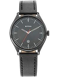 Titan Analog Black Dial Men's Watch-1834NL01