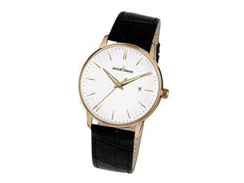 Jacques Lemans Nostalgie N-216B Montre Bracelet pour femmes Classique & Simple