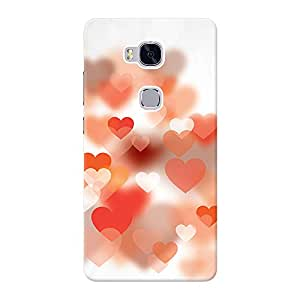 Inkif Printed Designer Case For Huawei Honor 5X Multi-Coloured
