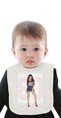 Thursday-Night-Football Organic Baby Bib With Ties Medium