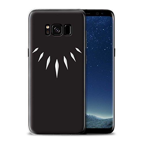 Stuff4® Gel TPU Hülle/Case für Samsung Galaxy S8 Plus/G955 / T'Challa Klauenhalskette Muster/Schwarzer Panther Inspiriert Kollektion -