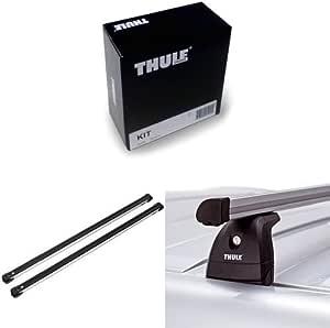 Thule Kit 3028 Thule Slidebar 891 Dachträger Thule 753 Fußsatz Für Fahrzeuge Mit Vorhandenen Befestigungspunkten Auto