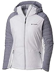 f596af0e9d8 Columbia Whistler Peak Chamarra de esquí de Invierno con Capucha térmica  Omni para Mujer Grande