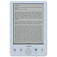 """Sunstech EBI8LTOUCH - Libro electrónico de 6"""" (8 GB, USB), color azul"""