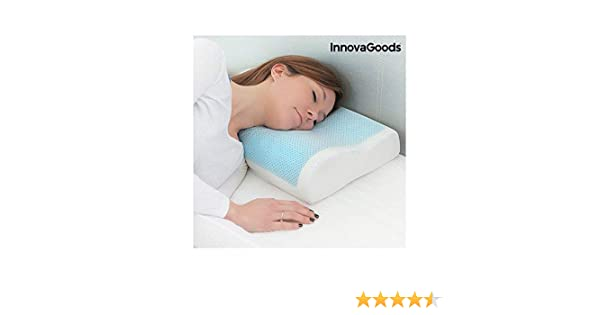 InnovaGoods Pillow, White, Standard